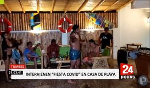 Tumbes: intervienen a decenas de personas que celebraban un cumpleaños en la piscina
