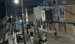 Joven reduce a ladrón que iba a asaltarlo en San Juan de Miraflores
