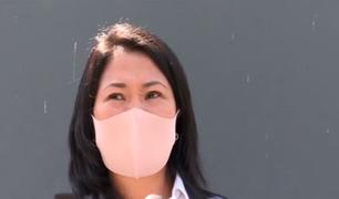 Keiko Fujimori se pronuncia sobre la salud de su padre