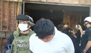"""Piura: detienen a peligrosos delincuentes de """"Los Malditos de Amotape"""" en pleno robo"""