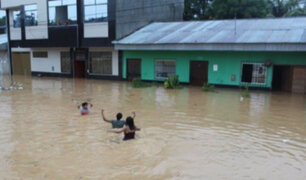 Yurimaguas: más de 3,000 viviendas  resultaron inundadas tras  torrencial lluvia