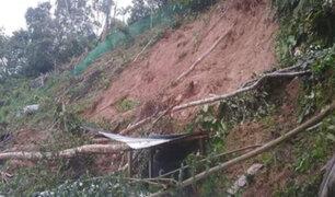Amazonas: familia murió sepultada tras deslizamiento de cerro por fuertes lluvias