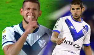 Luis Abram anotó el 1-0 de Vélez Sarsfield ante Independiente