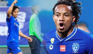 André Carrillo anotó el único gol a favor de Al Hilal