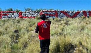 Realizan pintas proselitistas en patrimonios culturales de Huancavelica, Puno y Amazonas