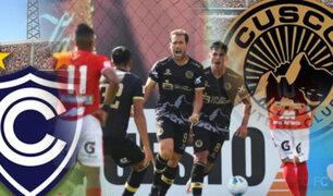 Cienciano y Cusco FC empataron 2-2 por fecha 2 de la Liga 1