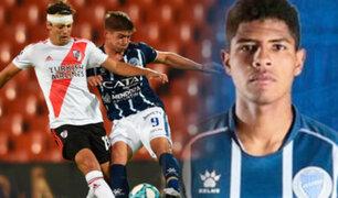 Wilder Cartagena: Godoy Cruz cayó 6-1 ante River Plate