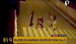 Vraem: tres extranjeras y una peruana se agarraron a golpes en pleno toque de queda