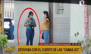 Huacho: casi agarran a golpes a mujer que estafaba con camas UCI