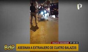 VES: asesinan a balazos a un ciudadano extranjero