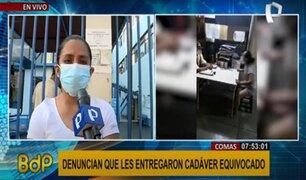 Familia que recibió cadáver equivocado inició acciones legales contra hospital