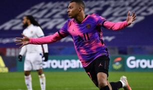 Mbappé marca doblete y devuelve al liderato al PSG en la Ligue 1 de Francia