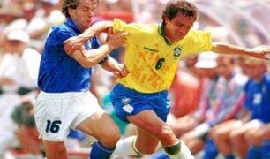 Branco, campeón del mundo con Brasil, se encuentra delicado por COVID-19