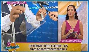 D'Mañana | Protectores faciales: ¿cuándo usarlos y cómo desinfectarlos?