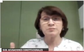 """Pilar Mazzeti asegura que su vacunación fue """"transparente"""" y que """"no actuó de manera ilegal"""""""