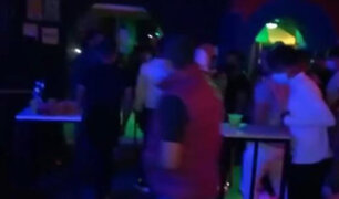 Lambayeque: intervienen a más de 100 personas en discoteca que funcionaba durante toque de queda