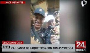 Cercado: cae banda que cobraba cupos a comerciantes y mototaxistas de 'La Cachina'