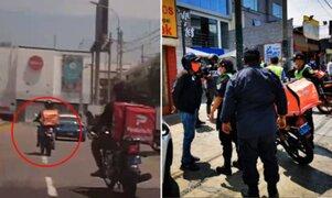 Surco: intervienen a extranjero que protagonizó persecución tras huir de operativo