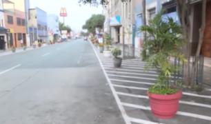 Municipalidad de Lince sostuvo que colocación de macetas responde a una recuperación de espacios