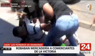 'Los Peineros de Raimondi': desarticulan banda que era el terror de comerciantes