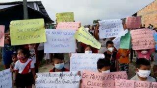 Iquitos: 180 niños no pueden asistir a clases virtuales por falta de energía eléctrica