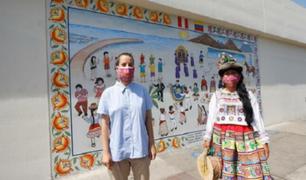 Ministerio de Cultura presentó murales para la promoción de la diversidad cultural