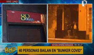 """Lince: cerca de 40 personas se atrincheran en """"búnker covid"""" para no ser intervenidos"""