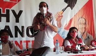 """Lescano: """"Voy a pedir al presidente de Chile que devuelvan el monitor Huáscar"""""""