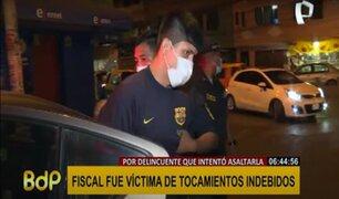 Sujeto que intentó asaltar a fiscal en un taxi tiene 20 denuncias por hurto y robo