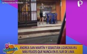 Picantitas del espectáculo: Andrea San Martin y Sebastián Lizarzaburu lucen felices en Instagram