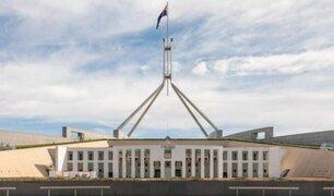 Denuncian filmación de videos sexuales en el Parlamento de Australia