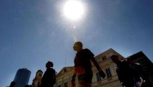 Abril registrará días con más horas de brillo solar, según Senamhi