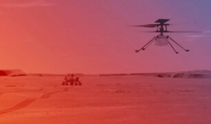 La NASA revela fecha tentativa para volar helicóptero Ingenuity en Marte