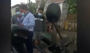 VES: detienen a falso médico que cobraba hasta 4 mil soles para atender casos COVID-19