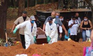 Situación crítica: Brasil supera récord de 3 mil muertes en un día