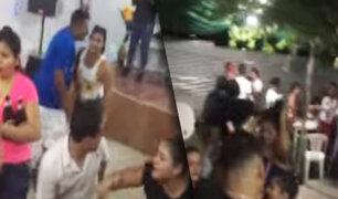Tumbes: Agentes de la policía intervienen fiestas clandestinas en toque de queda