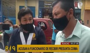 Huaura: acusan a funcionario del municipio de exigir coima