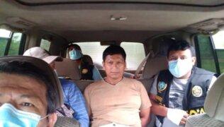Ucayali: Fuerzas armadas capturan a requisitoriado por el delito de terrorismo