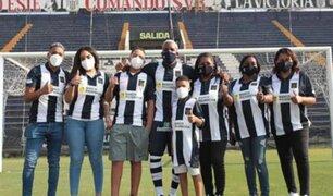 De regreso a Matute: Farfán y su familia recorrieron el histórico estadio victoriano