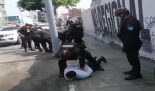 Agentes policiales capturaron a dos presuntos sicarios en el Callao