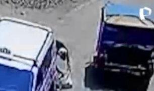 Falso reciclador que robó mercadería a empresario en SJL presenta varios antecedentes