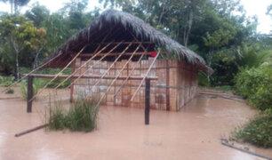 Amazonas: casas y áreas de cultivo quedaron inundados por desborde del río Cenepa