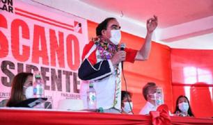 Candidatos de Acción Popular defienden a Lescano y aseguran que posee grado de Maestro en U. de Chile