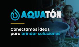Aquatón: el concurso que busca soluciones innovadoras a problemas de agua y saneamiento