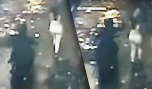 Mujer fue víctima de raqueteros en el jirón Ocoña