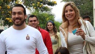 Alcalde de La Molina denuncia por violencia familiar a su pareja Sofía Franco
