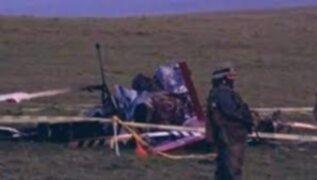 Uruguay: se estrella helicóptero que transportaba vacunas Pfizer