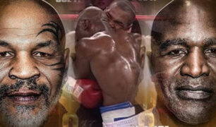 Tyson vs. Holyfield: se confirma la tercera pelea entre los excampeones pesados