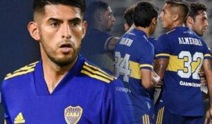 """Carlos Zambrano: """"llegar a Boca fue un plus muy grande para mí, en esta liga me exijo más"""""""