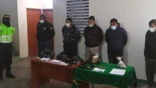 Ica: capturan a policías que transportaban 30 paquetes de droga por la Vía Los Libertadores